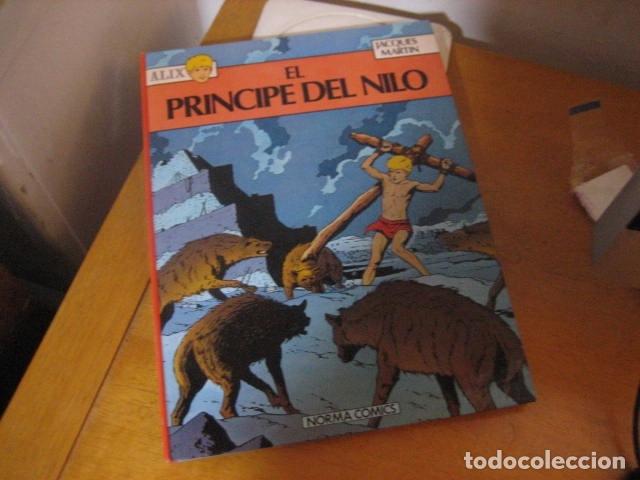 ALIX. EL PRINCIPE DEL NILO. JACQUES MARTIN. NORMA EDITORIAL (Tebeos y Comics - Magerit - Rip Kirby)