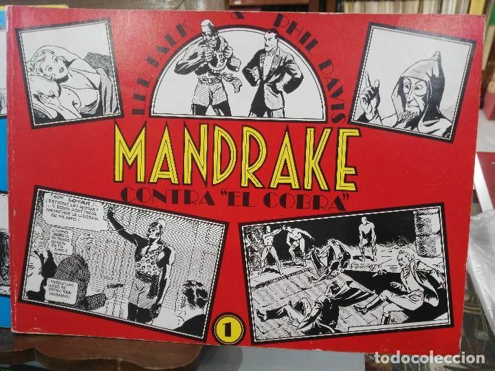 Cómics: Mandrake - 13 números, Colección Completa - Lee Falk & Phil Davis - Ed. Joaquín Esteve - Foto 2 - 127632859