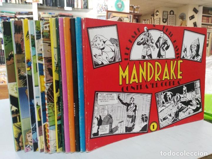 Cómics: Mandrake - 13 números, Colección Completa - Lee Falk & Phil Davis - Ed. Joaquín Esteve - Foto 3 - 127632859