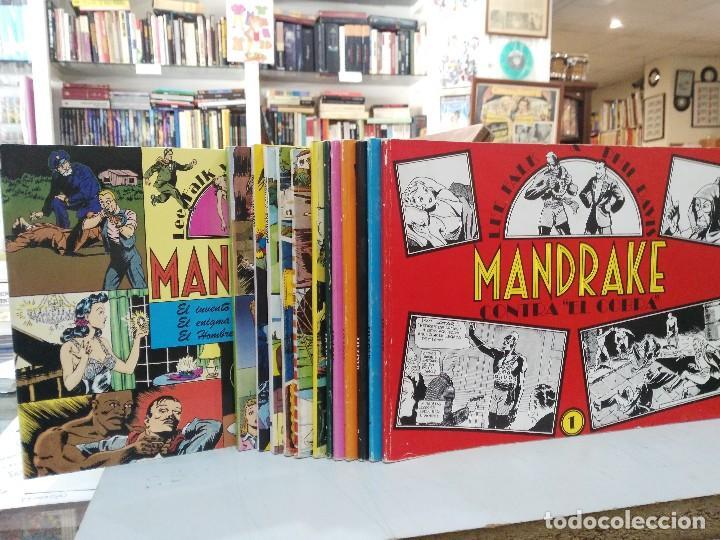 Cómics: Mandrake - 13 números, Colección Completa - Lee Falk & Phil Davis - Ed. Joaquín Esteve - Foto 4 - 127632859