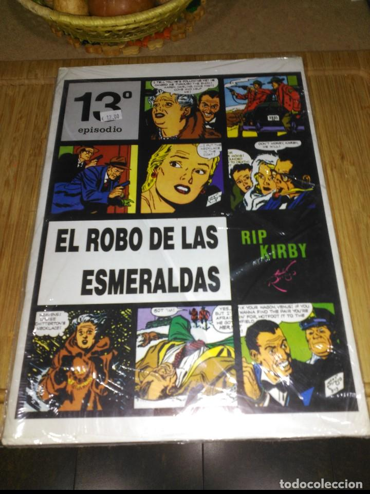 RIP KIRBY Nº 13 NUEVO SIN USAR EL ROBO DE LAS ESMERALDAS. (Tebeos y Comics - Magerit - Rip Kirby)