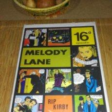Cómics: RIP KIRBY Nº 16 NUEVO SIN USAR MELODY LANE. Lote 132067338