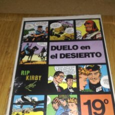 Cómics: RIP KIRBY Nº 19 NUEVO SIN USAR DUELO EN EL DESIERTO.. Lote 132067802