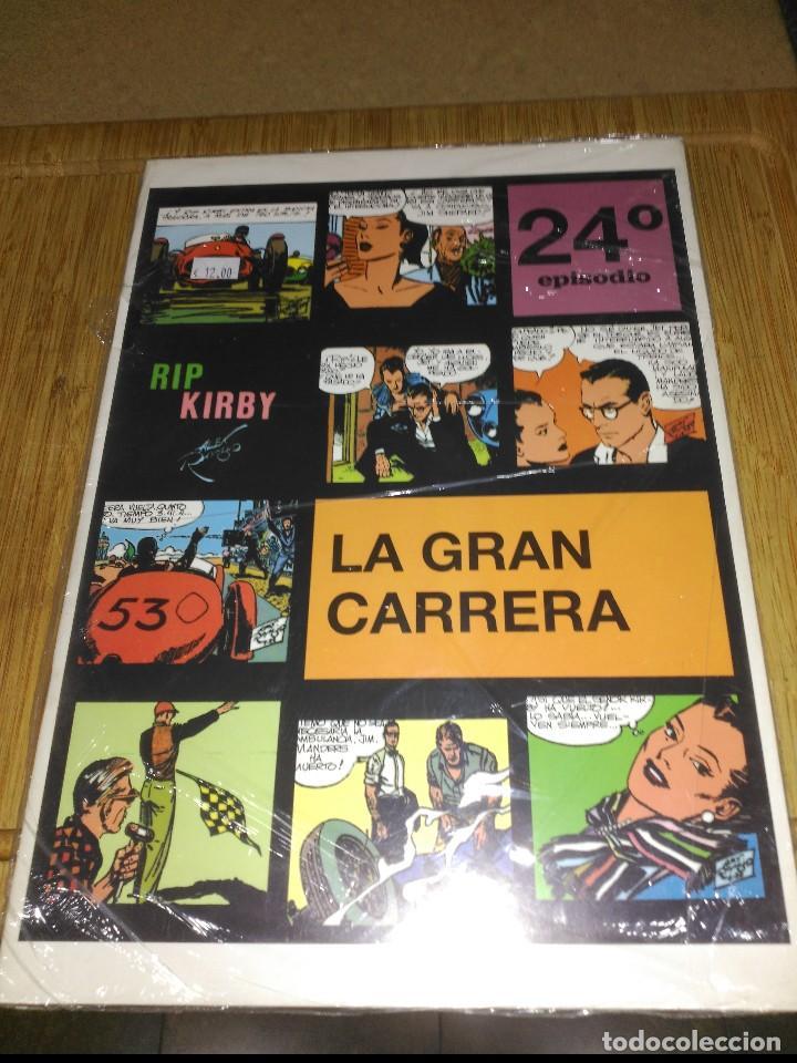 RIP KIRBY Nº 24 NUEVO SIN USAR LA GRAN CARRERA. (Tebeos y Comics - Magerit - Rip Kirby)