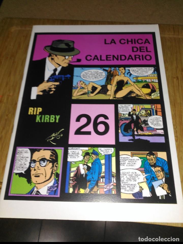 RIP KIRBY Nº 26 NUEVO SIN USAR LA CHICA DEL CALENDARIO (Tebeos y Comics - Magerit - Rip Kirby)