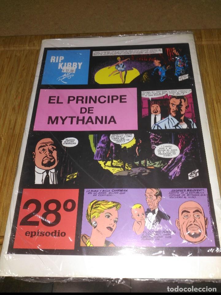 RIP KIRBY Nº 28 NUEVO SIN USAR EL PRÍNCIPE DE MYTHANIA (Tebeos y Comics - Magerit - Rip Kirby)