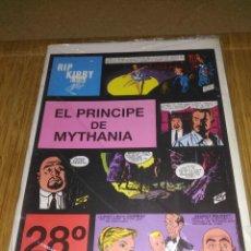 Cómics: RIP KIRBY Nº 28 NUEVO SIN USAR EL PRÍNCIPE DE MYTHANIA. Lote 132069362