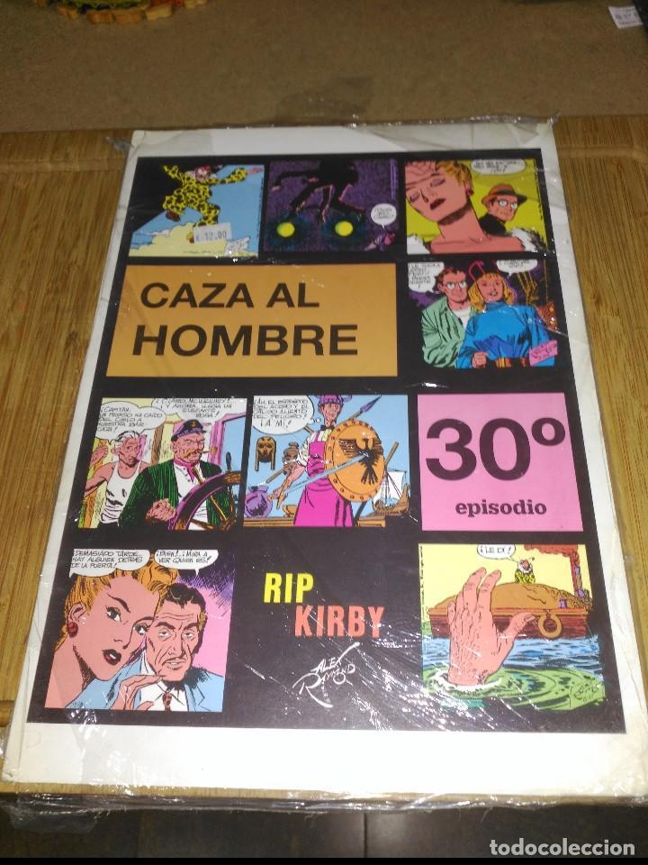 RIP KIRBY Nº 30 NUEVO SIN USAR CAZA AL HOMBRE (Tebeos y Comics - Magerit - Rip Kirby)