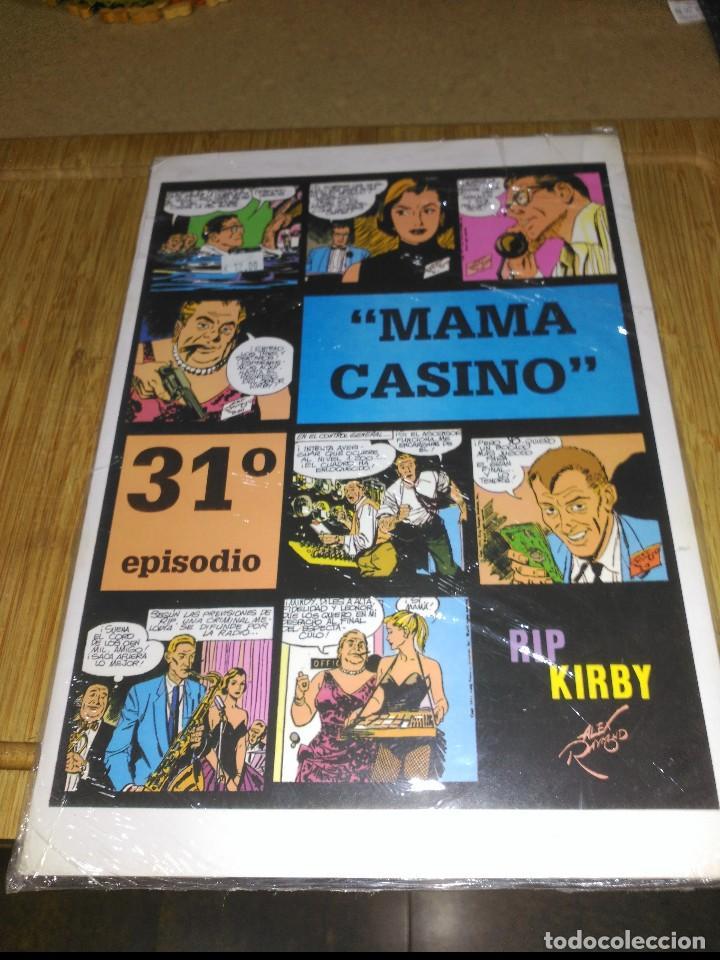 RIP KIRBY Nº 31 NUEVO SIN USAR MAMA CASINO (Tebeos y Comics - Magerit - Rip Kirby)