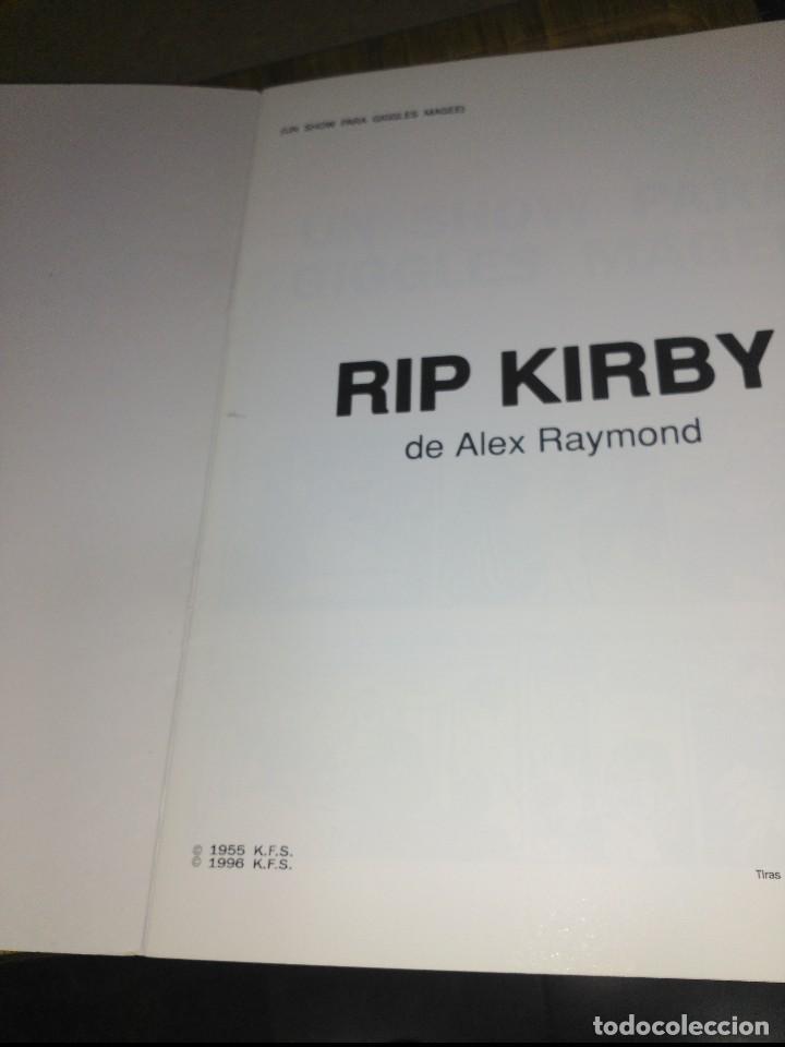 Cómics: Rip Kirby Nº 32 NUEVO SIN USAR Un show para Giggles Magee - Foto 3 - 132070686