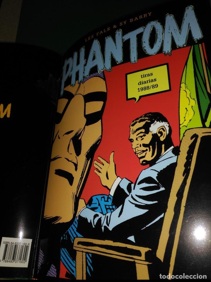 Cómics: Phantom El Hombre enmascarado TOMO Nª5 con 3 cómics de Tiras diarias 1986 a1989 - Foto 4 - 132159458