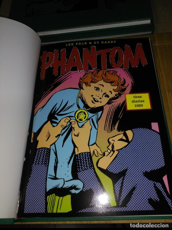 Cómics: Phantom El Hombre enmascarado TOMO Nª6 con 3 cómics de Tiras diarias 1989 a 1990 - Foto 2 - 132159974
