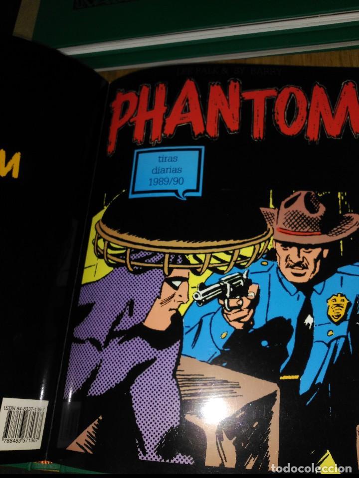 Cómics: Phantom El Hombre enmascarado TOMO Nª6 con 3 cómics de Tiras diarias 1989 a 1990 - Foto 3 - 132159974