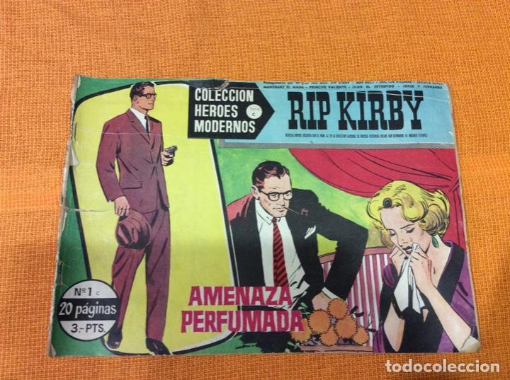 RIP KIRBY.COLECCION HEROES MODERNOS ,NÚMERO 1. (Tebeos y Comics - Magerit - Rip Kirby)