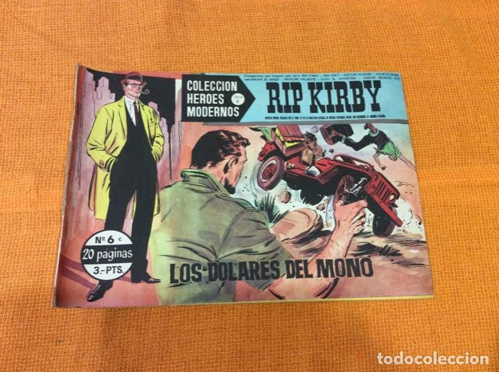 RIP KIRBY.COLECCION HEROES MODERNOS ,NÚMERO 6. (Tebeos y Comics - Magerit - Rip Kirby)