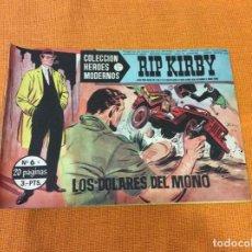 Cómics: RIP KIRBY.COLECCION HEROES MODERNOS ,NÚMERO 6.. Lote 139098378