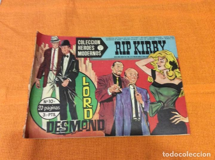 RIP KIRBY.COLECCION HEROES MODERNOS ,NÚMERO 10. (Tebeos y Comics - Magerit - Rip Kirby)
