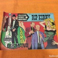 Cómics: RIP KIRBY.COLECCION HEROES MODERNOS ,NÚMERO 10.. Lote 139098590