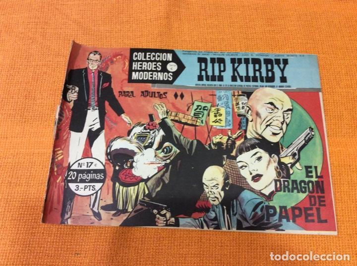 RIP KIRBY.COLECCION HEROES MODERNOS ,NÚMERO 17. (Tebeos y Comics - Magerit - Rip Kirby)