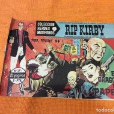 Cómics: RIP KIRBY.COLECCION HEROES MODERNOS ,NÚMERO 17.. Lote 139098778