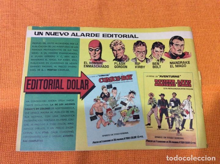 Cómics: Rip Kirby.Coleccion Heroes Modernos ,número 17. - Foto 2 - 139098778