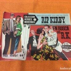 Cómics: RIP KIRBY.COLECCION HEROES MODERNOS ,NÚMERO 15.. Lote 139099046