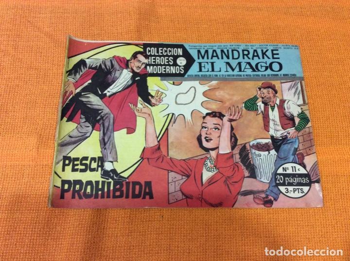 MANDRAKE EL MAGO. COLECCIÓN HÉROES MODERNOS.NUMERO 11. (Tebeos y Comics - Magerit - Mandrake)