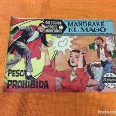 Cómics: MANDRAKE EL MAGO. COLECCIÓN HÉROES MODERNOS.NUMERO 11.. Lote 139099786
