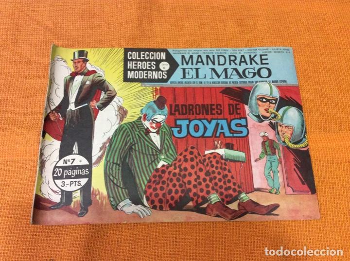 MANDRAKE EL MAGO. COLECCIÓN HÉROES MODERNOS.NUMERO 7. (Tebeos y Comics - Magerit - Mandrake)