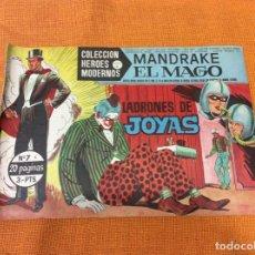 Cómics: MANDRAKE EL MAGO. COLECCIÓN HÉROES MODERNOS.NUMERO 7.. Lote 139099998