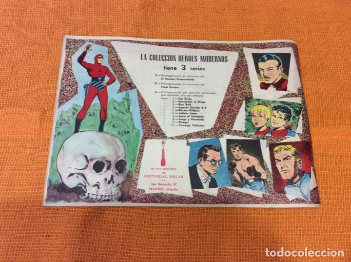 Cómics: Mandrake El Mago. Colección Héroes Modernos.Numero 7. - Foto 2 - 139099998