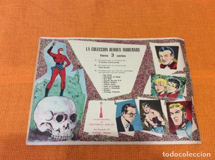 Cómics: Mandrake El Mago. Colección Héroes Modernos.Numero 2. - Foto 2 - 139100190
