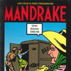 Comics : MANDRAKE , TIRAS DIARIAS 1965/66 ,Nº 47 XANADÚ. / LA SOCIEDAD SECRETA DEL 8 / LAS BRUJAS.. Lote 140647338