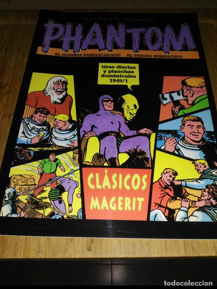 PHANTOM TIRAS DIARIAS Y PLANCHAS DOMINICALES 1949/1 (Tebeos y Comics - Magerit - Phantom)