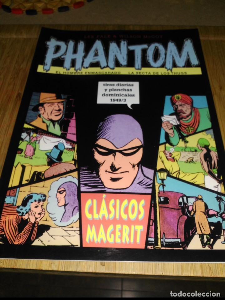 PHANTOM TIRAS DIARIAS Y PLANCHAS DOMINICALES 1949/3 (Tebeos y Comics - Magerit - Phantom)