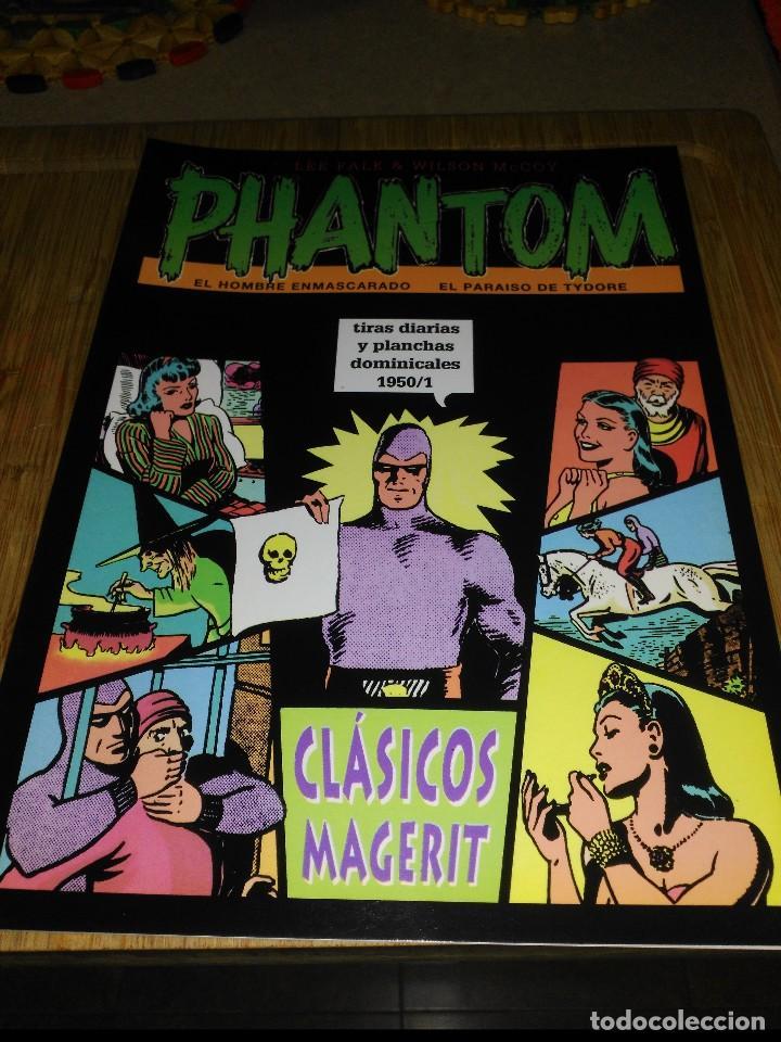 PHANTOM TIRAS DIARIAS Y PLANCHAS DOMINICALES 1950/1 (Tebeos y Comics - Magerit - Phantom)