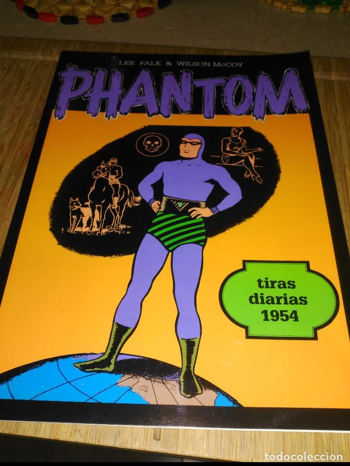 PHANTOM TIRAS DIARIAS 1954 (Tebeos y Comics - Magerit - Phantom)