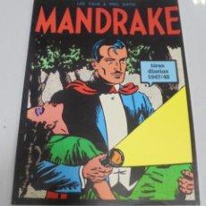 Cómics: TEBEO. MANDRAKE. TIRAS DIARIAS. 1947/48. VOLUMEN 7º.. Lote 141636798