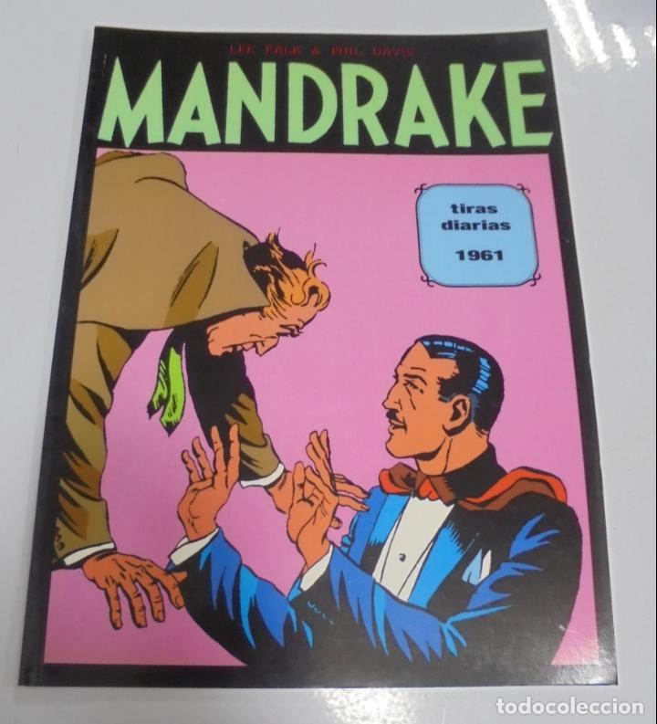 TEBEO. MANDRAKE. TIRAS DIARIAS. 1961. TOMO 2. (Tebeos y Comics - Magerit - Mandrake)
