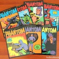 Comics : PHANTOM / EL HOMBRE ENMASCARADO: 7 VOLS TIRAS 1954/55-1975/76/77/78 - MAGERIT. Lote 147264070