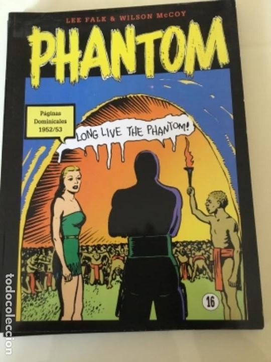 HOMBRE ENMASCARADO. PÁGINAS DOMINICALES EN COLOR. 1952/53. (Tebeos y Comics - Magerit - Phantom)