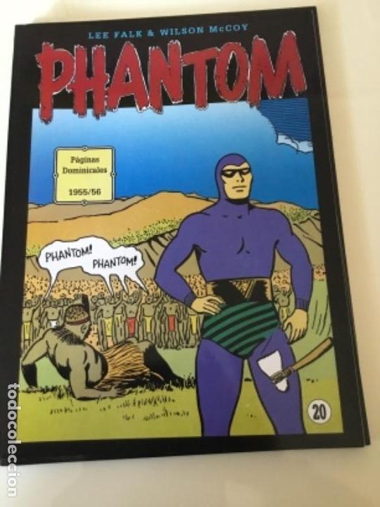 HOMBRE ENMASCARADO. PÁGINAS DOMINICALES 1955/56. EN COLOR. (Tebeos y Comics - Magerit - Phantom)
