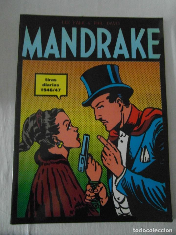 PERFECTO ESTADO. MANDRAKE TIRAS DIARIAS 1946/47. TOMO I. LEE FALK & PHIL DAVES (Tebeos y Comics - Magerit - Mandrake)
