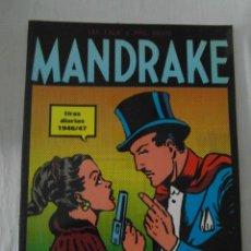 Cómics: PERFECTO ESTADO. MANDRAKE TIRAS DIARIAS 1946/47. TOMO I. LEE FALK & PHIL DAVES. Lote 153344998