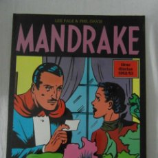 Cómics: PERFECTO ESTADO. MANDRAKE TIRAS DIARIAS 1952/53. TOMO 11. LEE FALK & PHIL DAVES. Lote 153346218