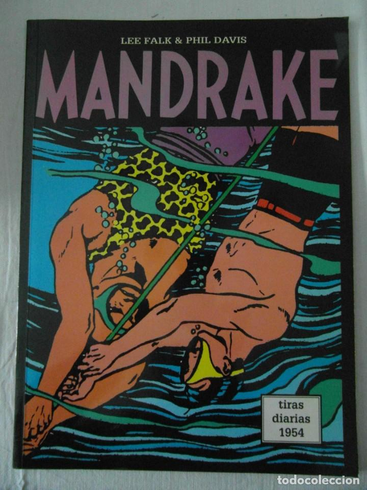 Cómics: PERFECTO ESTADO. MANDRAKE TIRAS DIARIAS 1954. TOMO 24. LEE FALK & PHIL DAVES - Foto 1 - 153346350