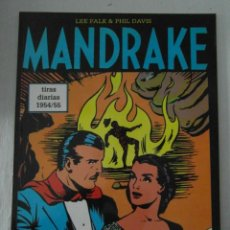 Cómics: PERFECTO ESTADO. MANDRAKE TIRAS DIARIAS 1954/55. TOMO 31. LEE FALK & PHIL DAVES. Lote 153346590