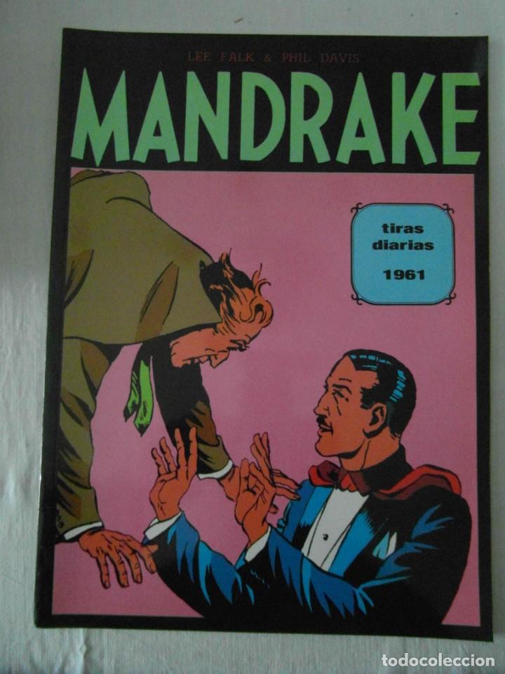 PERFECTO ESTADO. MANDRAKE TIRAS DIARIAS 1961. TOMO 2. LEE FALK & PHIL DAVES (Tebeos y Comics - Magerit - Mandrake)