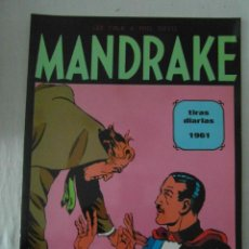 Cómics: PERFECTO ESTADO. MANDRAKE TIRAS DIARIAS 1961. TOMO 2. LEE FALK & PHIL DAVES. Lote 153346818