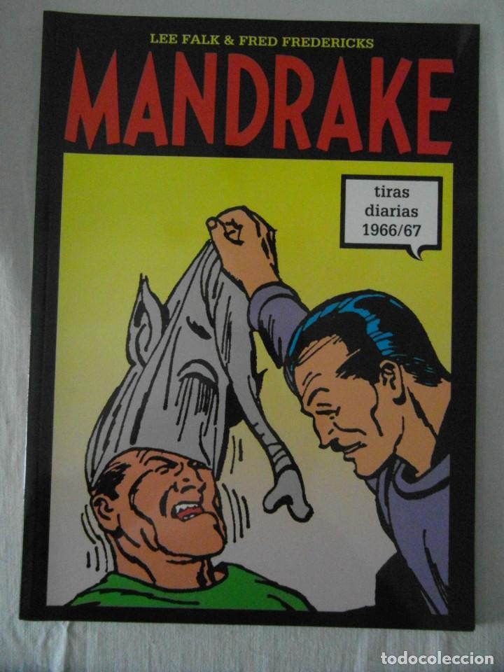MANDRAKE TIRAS DIARIAS 1966/67. TOMO 49. LEE FALK & PHIL DAVES. PERFECTO ESTADO (Tebeos y Comics - Magerit - Mandrake)